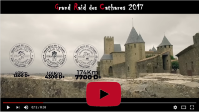 Teaser Grand raid des Cathares Aude Carcassonne France