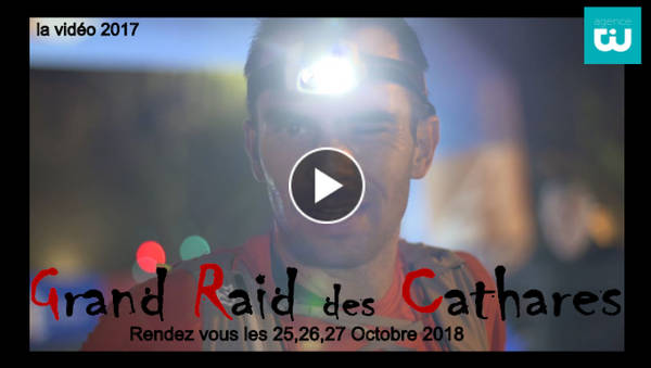 video grand raid des Cathares 2017